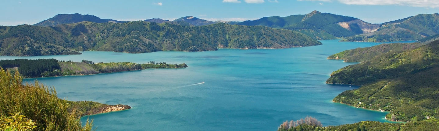 Marlborough Sounds, South Island, New Zealand