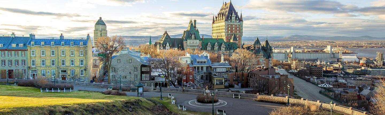 Chateau Frontenac, Quebec City, Quebec, Canada
