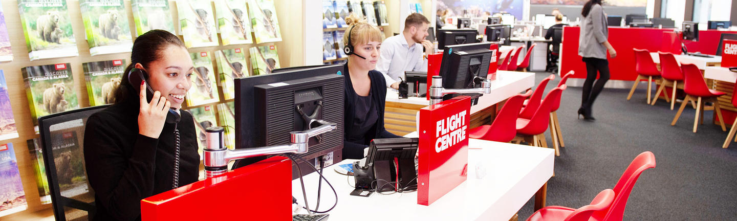 Flight Centre customer services