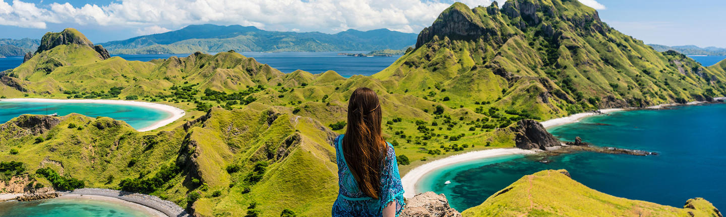 Padar Island, Komodo Island, Indonesia, flights sale hero