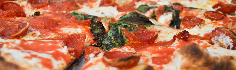 Pizza fron Grimaldi's