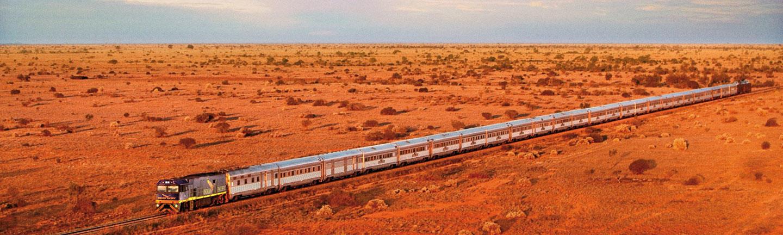 Indian Pacific train, Australia
