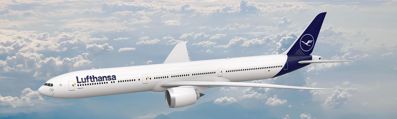 Lufthansa 777 aircraft