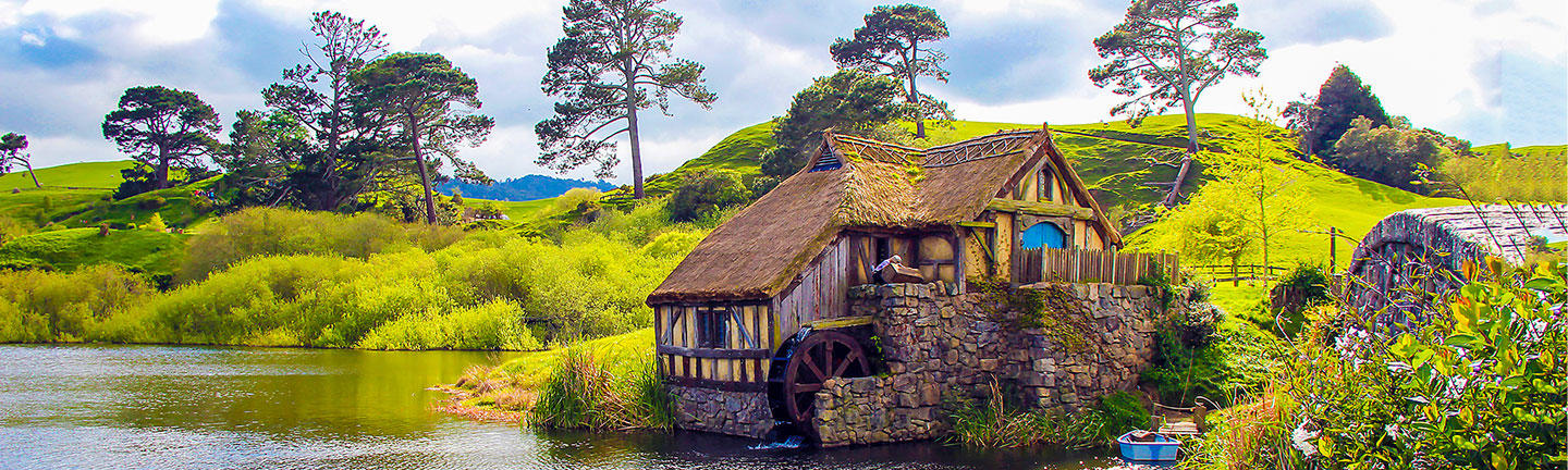 Watermill, Hobbiton, Lord of the Rings, New Zealand