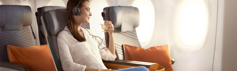 Singapore Airlines Premium Economy hero