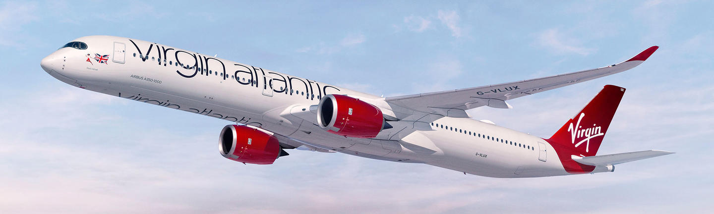 Virgin Atlantic hero A350
