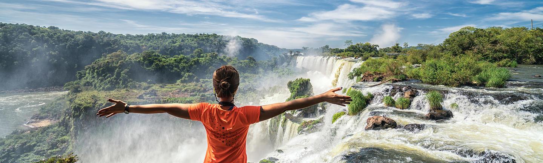 Iguazu Falls in Brazil/Argentina