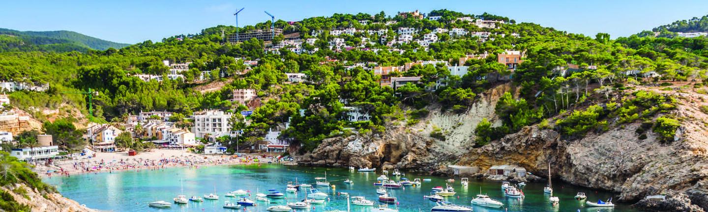 Sailing in Ibiza