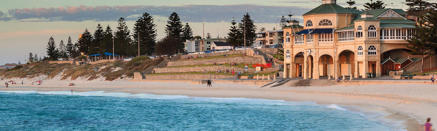 Cottesloe Beach in Perth, Western Australia