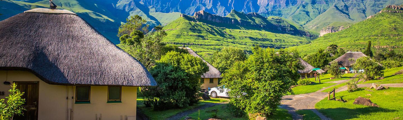Drakensberg Mountains in KwaZulu-Natal