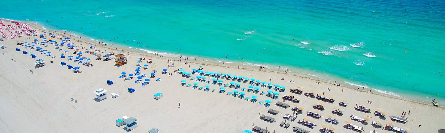 South Beach in Miami