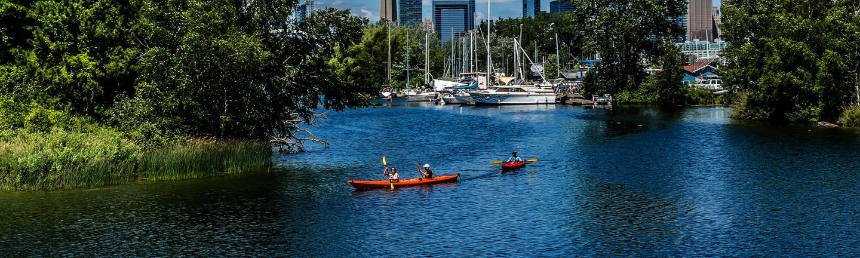 Lake Ontario in Toronto, Canada