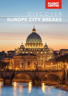 Europe city breaks brochure