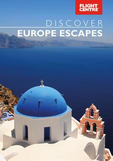 Europe Escapes brochure