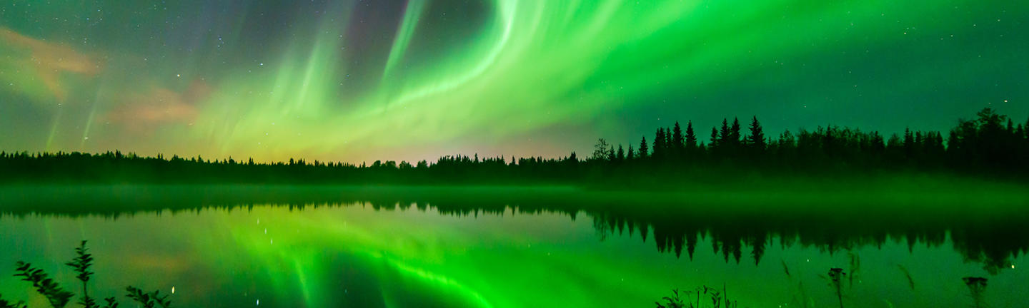 Northern Lights of the Yukon Holiday