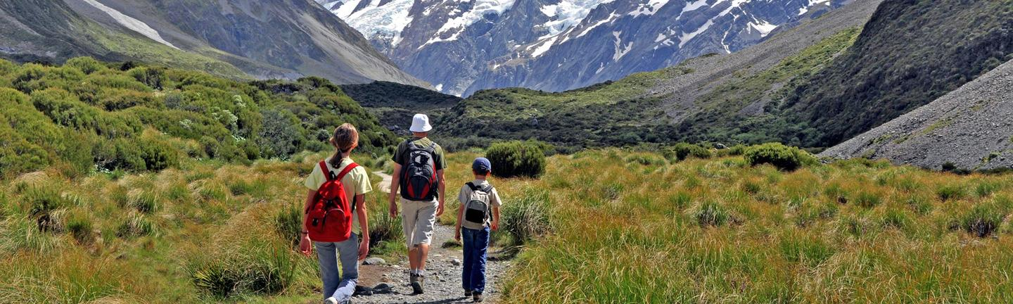 New Zealand by Campervan for Families Holiday