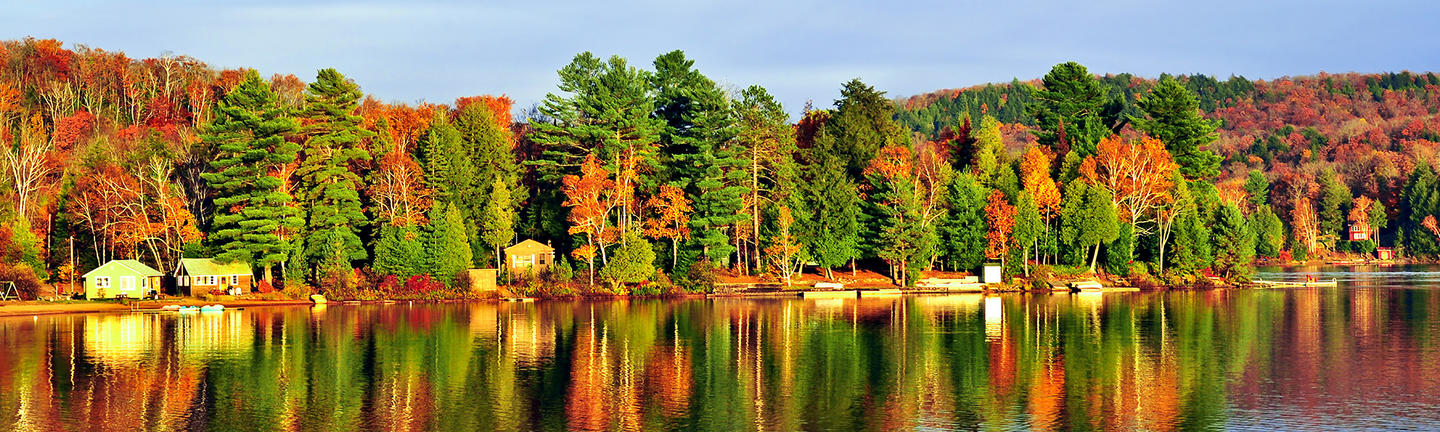 Forests & Lakes of Ontario Holiday