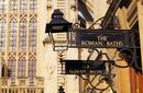 Roman Baths Sign