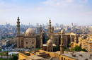 The skyline of Cairo