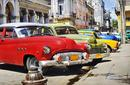Period Cars Parked, Cuba