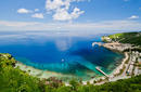 Overlooking Flying Fish Cove   by the Christmas Island Tourism Association © Michael Seebeck