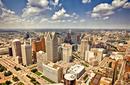 Explore downtown Detroit