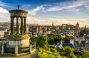 The cityscape of Edinburgh