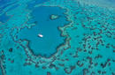 Heart Reef, a day trip from Hamilton Island