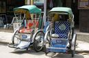 Hand-Pulled Rickshaws