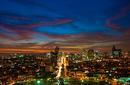 Skyline at Night, Lima