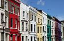 Colourful Houses, Notting Hill