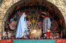 Puppets depicting the birth of Christ