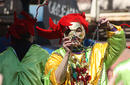 A Mardi Gras Reveller