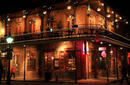 The French Quarter At Night