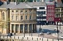 The cityscape of Newcastle