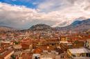 The cityscape of Quito