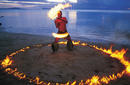 Samoan Fire Dancer | by The Samoa Tourism Authority ©Kirklandphotos.com