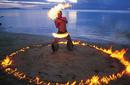 Samoan Fire Dancer | by The Samoa Tourism Authority ©Kirklandphotos.com