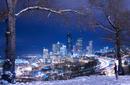 Skyline in Winter