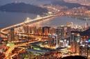 Skyline at Night, Busan