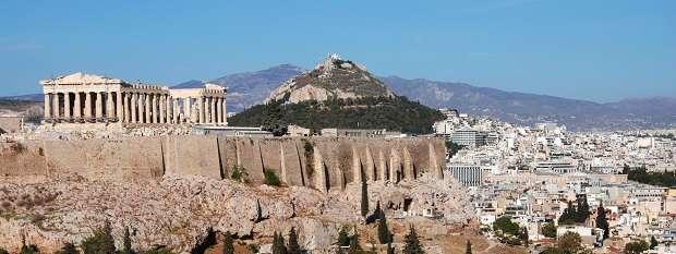 The sprawling Athens city