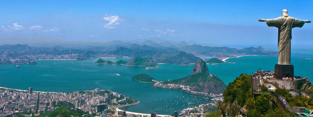 Take in the iconic sights of Rio De Janeiro