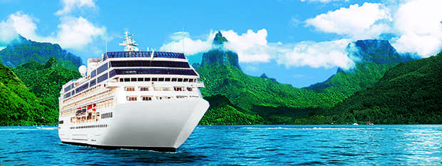 Take in the sights of Tahiti onboard Princess Cruises