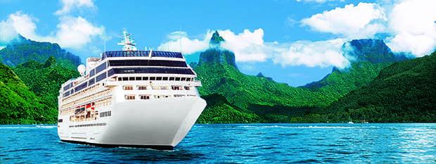 Take in the sights of Tahiti onboard Princess Cruises