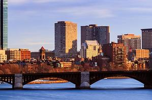 Boston city during the day