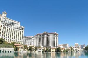 The Bellagio in Las Vegas