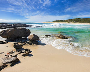 Surfers Point at Margaret River, WA, Australia