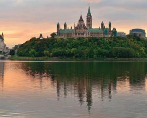 Sunset in Ottawa, ON, Canada