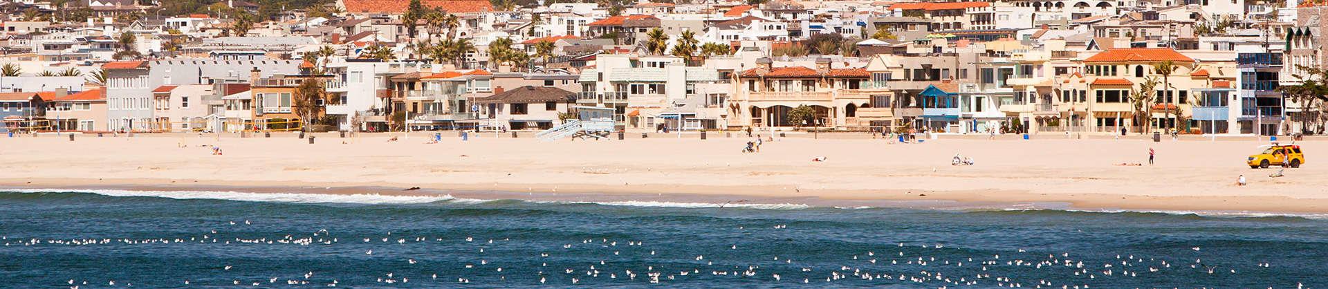 Santa Monica Beach in Los Angeles
