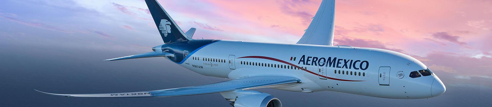 Aeromexico 787 aircraft
